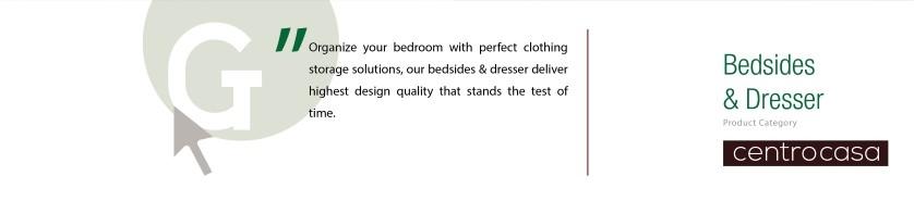 Bedsides & Dresser